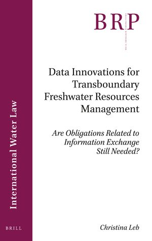 Cover Data Innovations for Transboundary Freshwater Resources Management