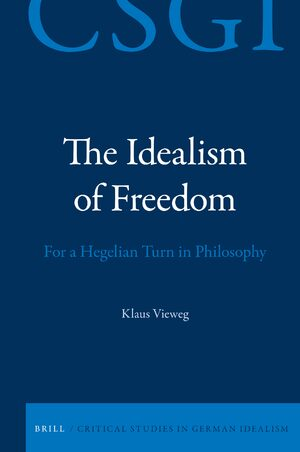 Cover The Idealism of Freedom