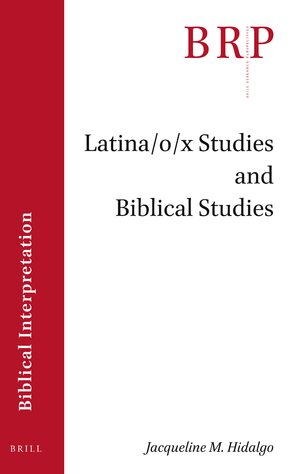 Cover Latina/o/x Studies and Biblical Studies