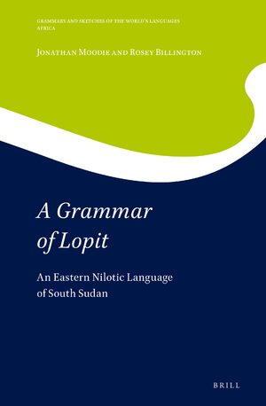 Cover A Grammar of Lopit