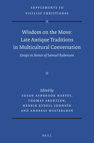 Cover Wisdom on the Move: Late Antique Traditions in Multicultural Conversation