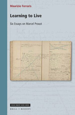 Cover Learning to Live: Six Essays on Marcel Proust