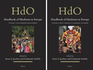 Cover Handbook of Hinduism in Europe (2 vols)