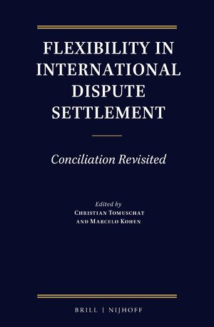Cover Flexibility in International Dispute Settlement