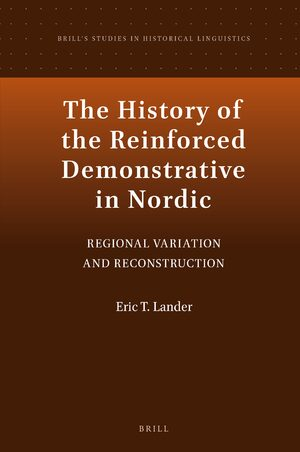 Cover The History of the Reinforced Demonstrative in Nordic