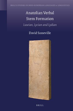 Cover Anatolian Verbal Stem Formation