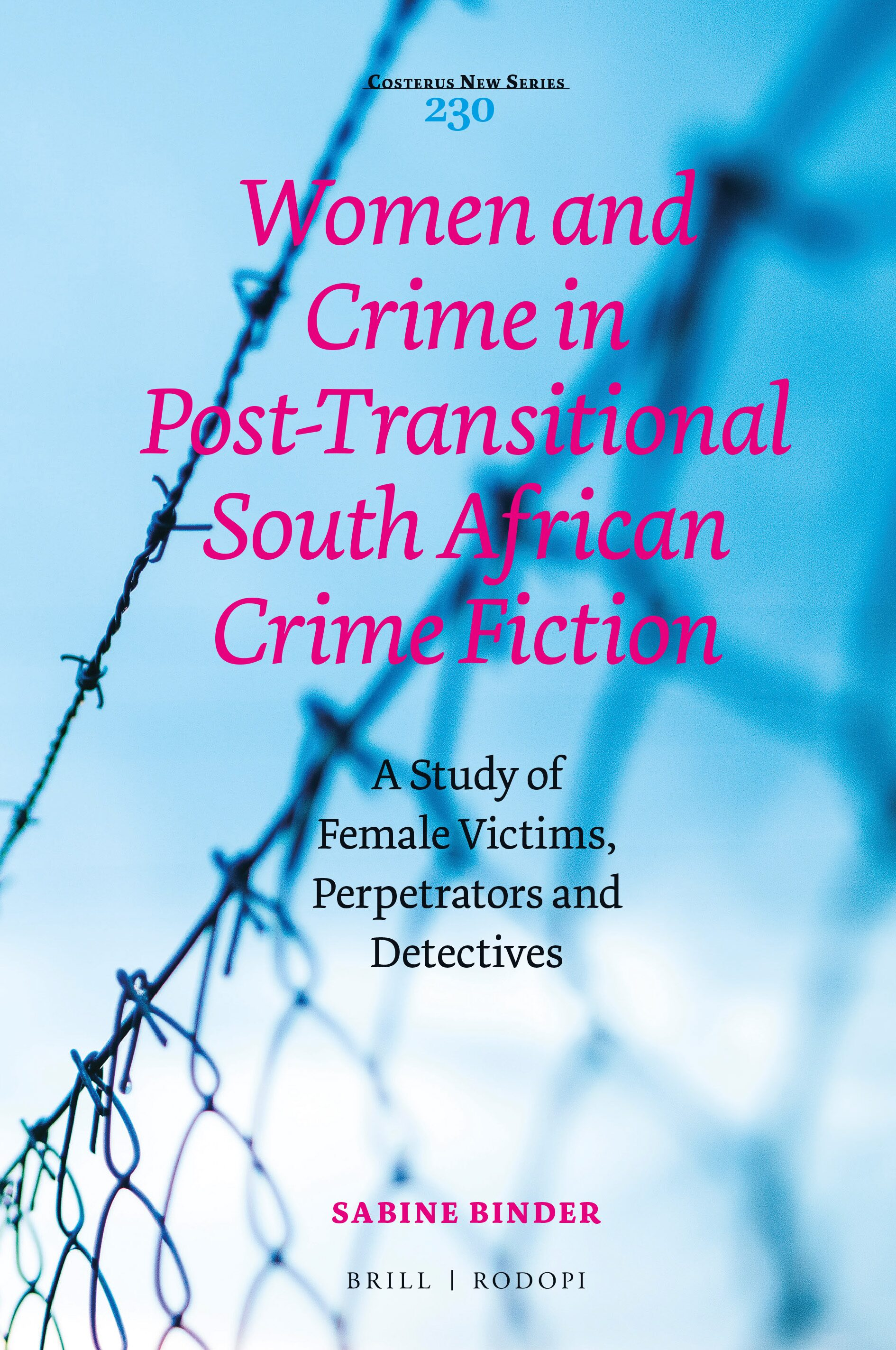 Chapter 3 The Female Detective In Women And Crime In Post Transitional South African Crime Fiction