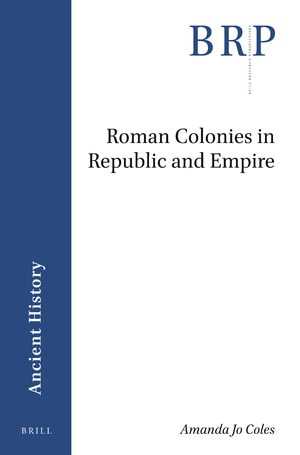 Cover Roman Colonies in Republic and Empire