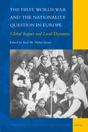 Cover The First World War and the Nationality Question in Europe
