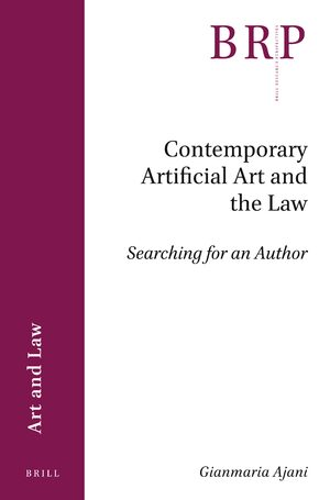Cover Contemporary Artificial Art and the Law