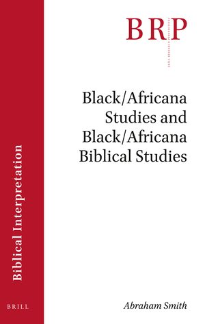 Cover Black/Africana Studies and Black/Africana Biblical Studies