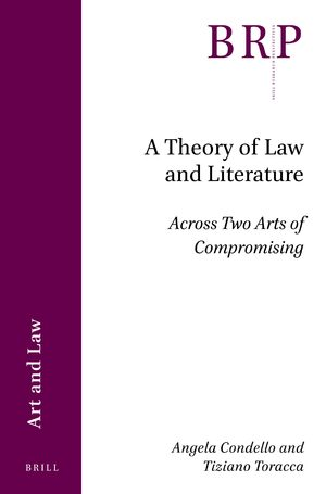 Cover A Theory of Law and Literature