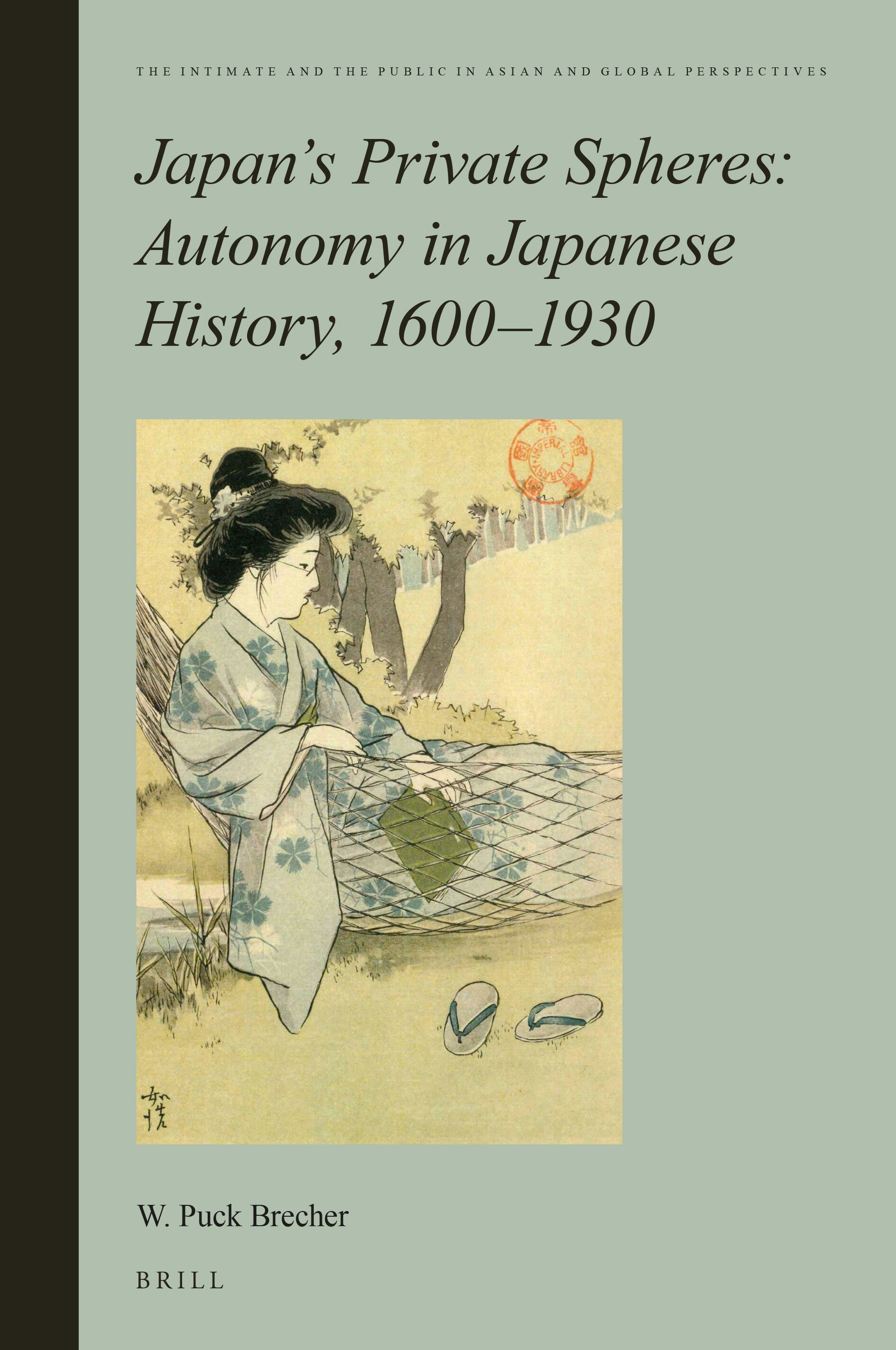 Chapter 5 Boyhood As An Autonomous Sphere In Japan S Private Spheres Autonomy In Japanese History 1600 1930