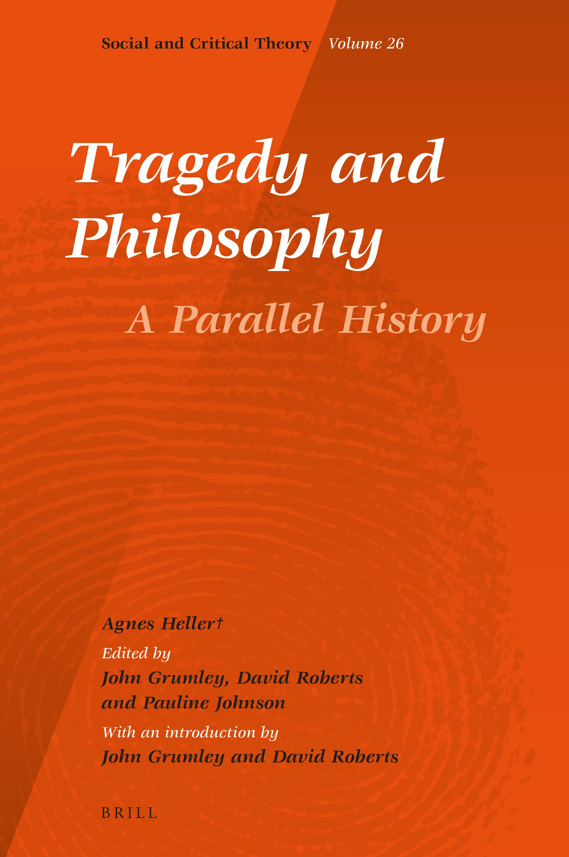 Part 20 Drama and Philosophy in Tragedy and Philosophy. A Parallel ...