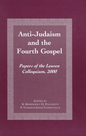 Cover Anti-Judaism and the Fourth Gospel