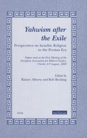 Cover Yahwism after the Exile