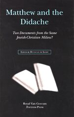 Cover Matthew and the Didache