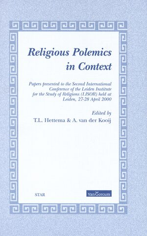 Cover Religious Polemics in Context