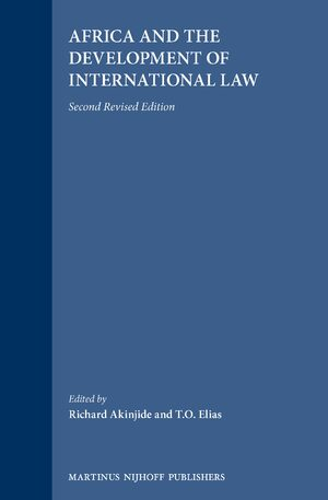 Cover Africa and the Development of International Law