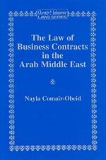 Cover The Law of Business Contracts in the Arab Middle East