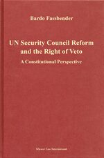Cover UN Security Council Reform and the Right of Veto