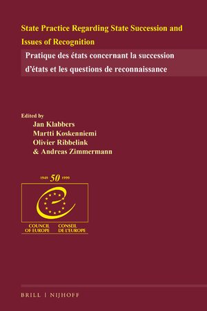 Cover State Practice Regarding State Succession and Issues of Recognition