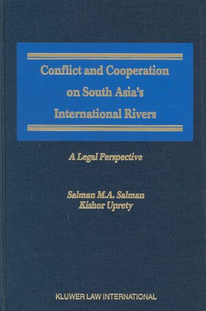 Cover Conflict and Cooperation on South Asia's International Rivers