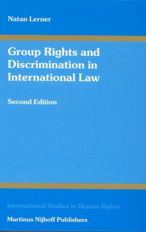 Cover Group Rights and Discrimination in International Law