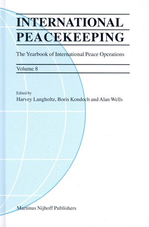 Cover International Peacekeeping: The Yearbook of International Peace Operations