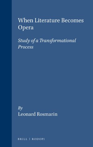 Cover When Literature Becomes Opera