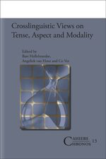 Cover Crosslinguistic Views on Tense, Aspect and Modality