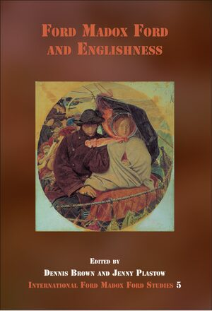 Cover Ford Madox Ford and Englishness