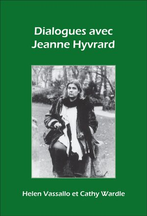 Cover Dialogues avec Jeanne Hyvrard