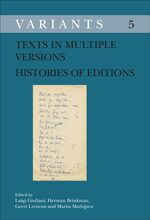 Cover Texts in Multiple Versions – Histories of Editions