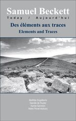 Cover Des éléments aux traces / Elements and Traces