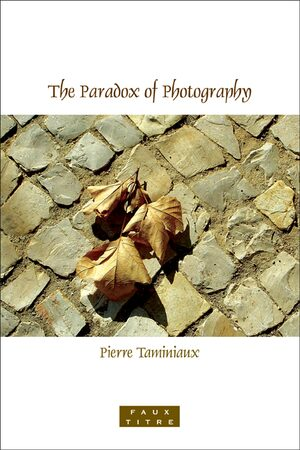 Cover The Paradox of Photography