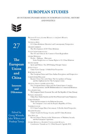 Cover The European Union and China