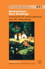 Neulektüren – New Readings