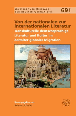 Cover Von der nationalen zur internationalen Literatur
