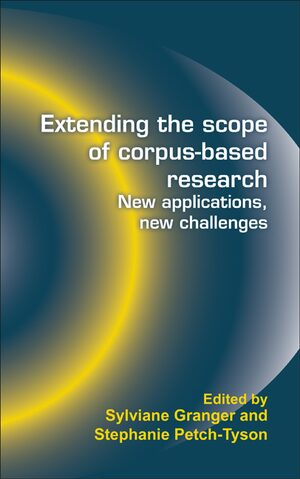 Cover Extending the scope of corpus-based research