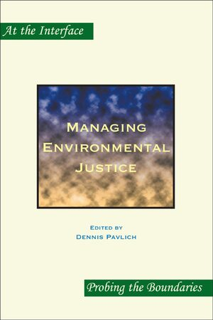 Cover Managing Environmental Justice