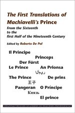 Cover The First Translations of Machiavelli's <i>Prince</i>