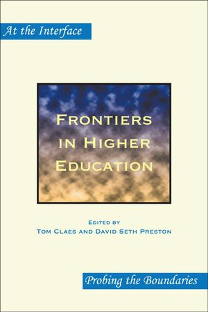 Cover Frontiers in Higher Education