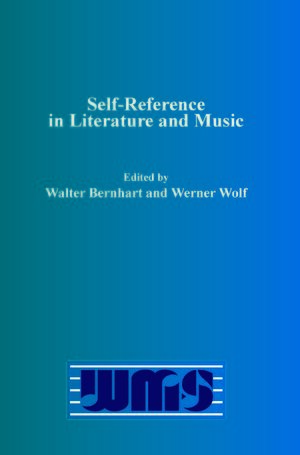 Cover Self-Reference in Literature and Music