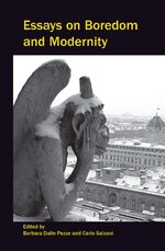 Cover Essays on Boredom and Modernity