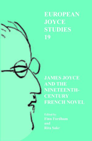 Cover James Joyce and the Nineteenth-Century French Novel