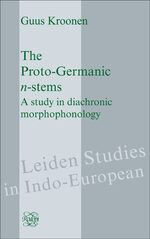Cover The Proto-Germanic <i>n</i>-stems