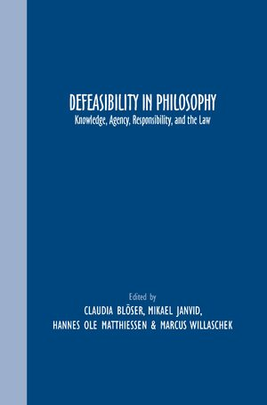 Cover Defeasibility in Philosophy
