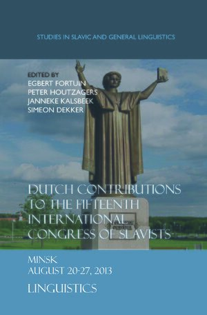Cover Dutch Contributions to the Fifteenth International Congress of Slavists