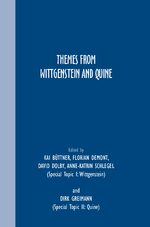 Cover Themes from Wittgenstein and Quine